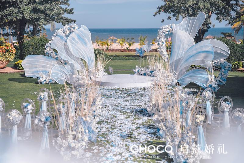 三亚婚礼 | 陆地海洋