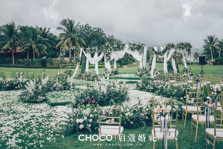 三亞婚禮 | 愛的花園