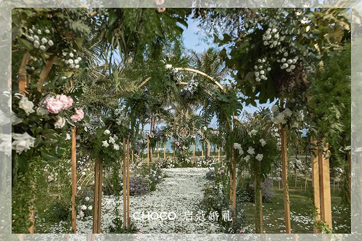 ?三亞婚禮 | 法式花園